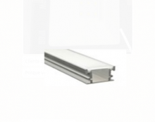 Perfil De Alumínio Para Embutir Solo Alto Com Difusor 28*11mm K632-2811