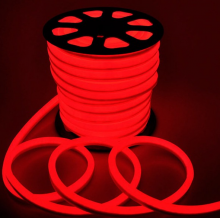 Fita Led Neon  Rolo 100m 16*8 Vermelha KLFT-NEON