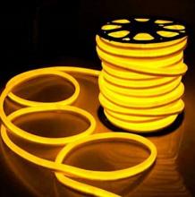 Fita Led Neon Rolo 100m 16*8 Amarela