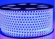 FITA LED AZUL 5050 6MM ROLO 100M 1 LED