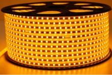 FITA LED AMARELO 5050 6MM ROLO 100M 1 LED