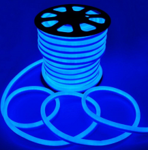 Fita Led Neon Rolo 100m 16*8 AZUL KLFT-NEON